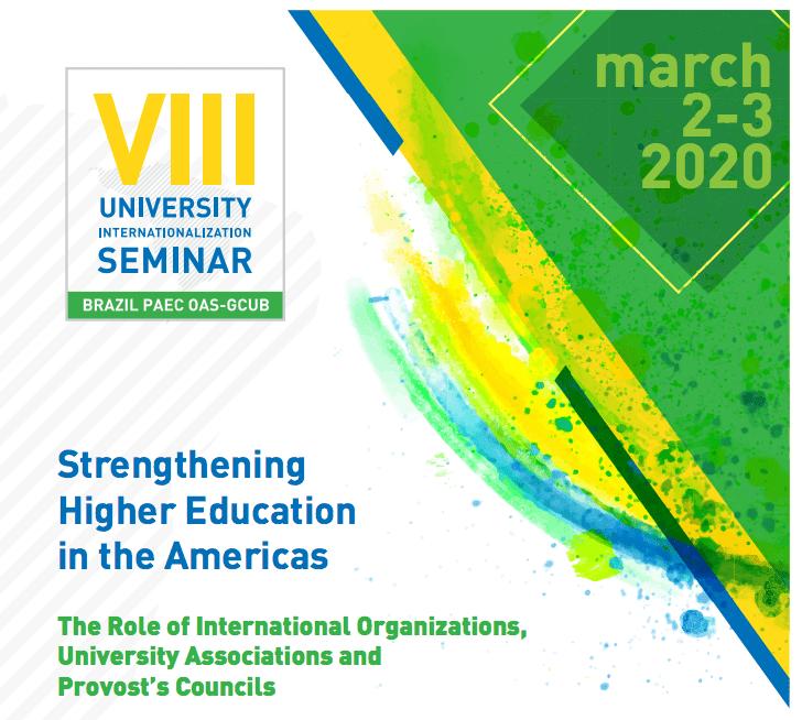 VIII Seminario sobre Internacionalización Universitaria