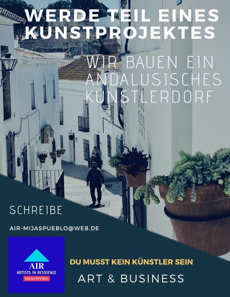 Künstlerdorf Andalusien