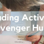 Reading Activity: Scavenger hunts (free downloads)