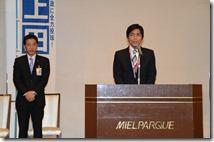 熊本県会議員 鎌田聡氏、「上田よしひろ中央区後援会」総会へ