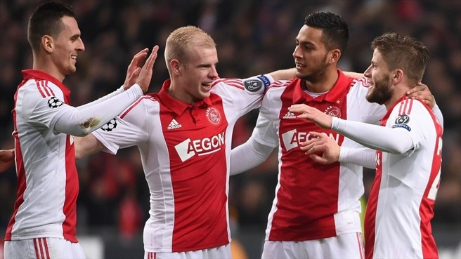 Ajax thrash APOEL to finish third in Group F