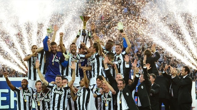 Image result for juventus champions league trophies