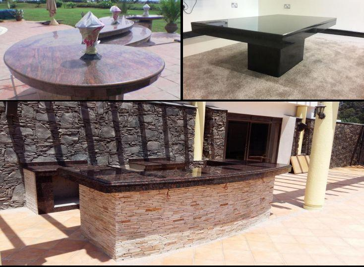 Granite and Marble Counter Tops for Hotel Reception Hall in Kampala Uganda
