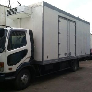 Fibreglass Insulated Refrigerated Truck Body Building in Kampala - Uganda - UEL Resins and Fibreglass