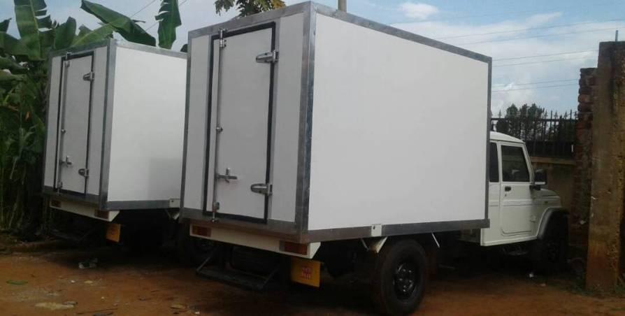 Refrigerated Truck Body Uganda - Fibre Glass and Resins Uganda - UEL Resins