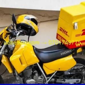 UEL Fibreglass Motorcycle Carrier Box DHL Uganda