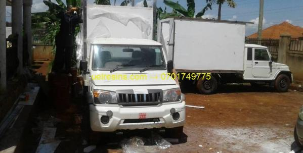 Refrigerated and Insulated Fibreglass Truck Body Building in Kampala - Uganda - uelresins.com
