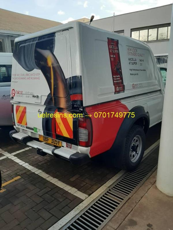 UEL Fibreglass Canopy Pickup Truck Kampala - Uganda at Low Price