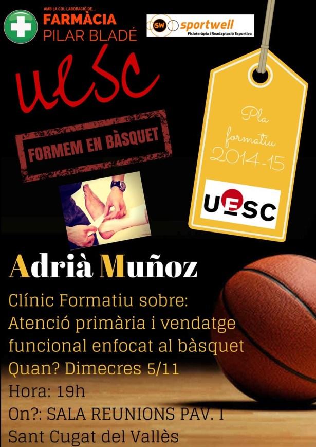 Clínic Formatiu Adrià Muñoz 05.11.14