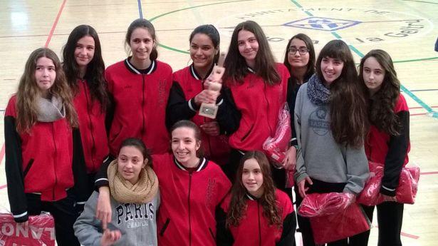 Cadet 1 Fem 2014-2015 Torneig Ciutat de Vilanova  campiones 2