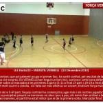 Ue Horta - Infantil Vermell Masc 2014-2015 muntatge