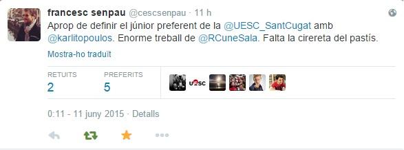 Cesc Senpau Twitter