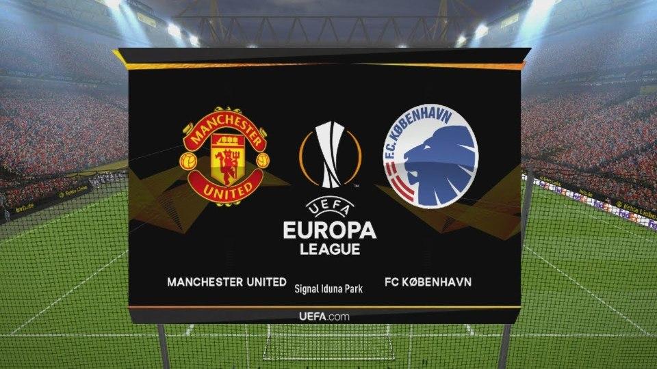 Manchester United vs FC Copenhagen