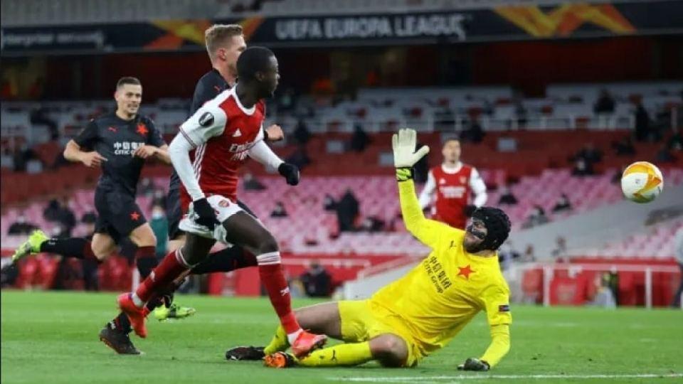 Arsenal vs Slavia Praha 09.04.2021 ไฮไลท์ฟุตบอล