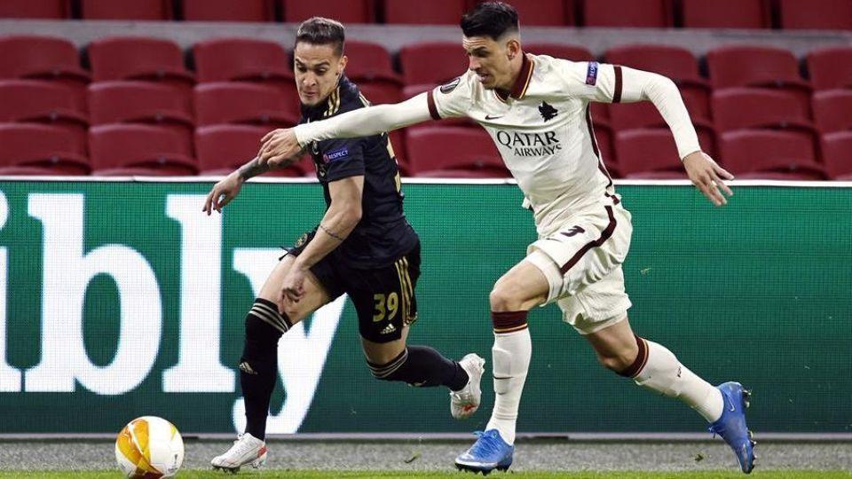 Ajax vs AS Roma 09.04.2021 ไฮไลท์ฟุตบอล