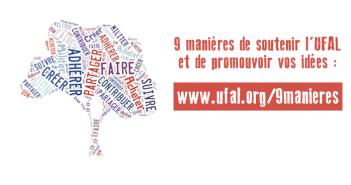 9 manières de soutenir l'UFAL