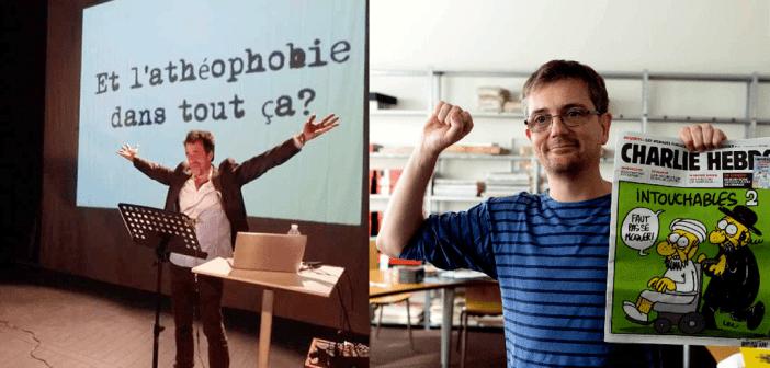 L'UFAL de Lille a été fière de faire vivre le spectacle mettant en scène le dernier texte de Charb