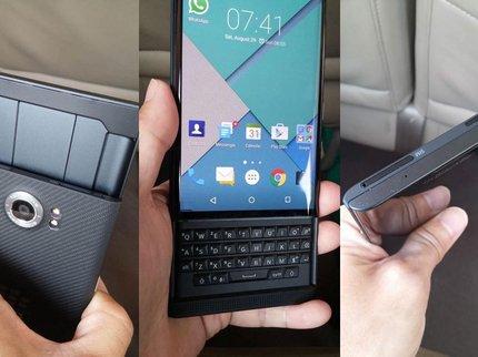 Blackberry выпустит новый смартфон без физической клавиатуры