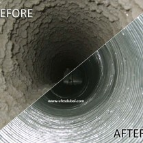 AC Duct Cleaning (Before & After)