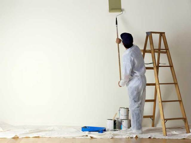 Painting Services Dubai - Professional Painters in Dubai UAE (Apartment Villa House Commercial Offices Warehouses) Villa Painting Dubai Apartment Painting Dubai Paint Service