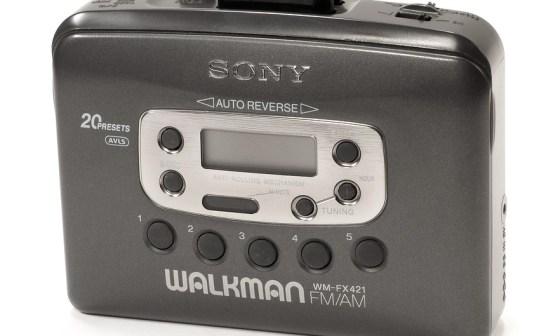 walkman esempio di marchio volgarizzato