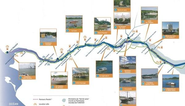 Naviguer de Saumur à Saint-Nazaire, c'est simple avec « La Loire en bateau » !