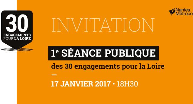 Première séance publique de la conférence permanente Loire le 17 Janvier 2017 à 18h30