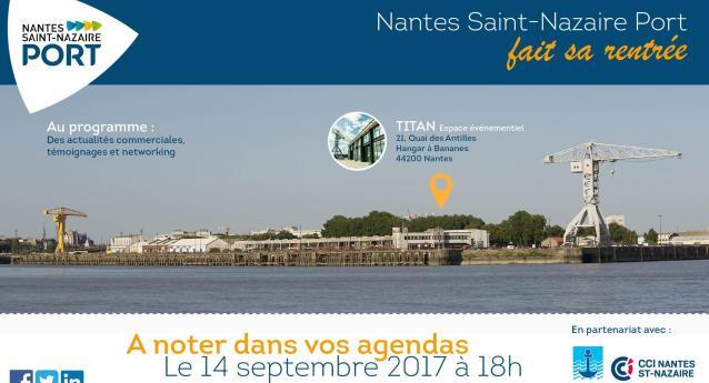 3ème édition de la soirée de rentrée organisée par le Grand Port Autonome de Nantes – Saint Nazaire
