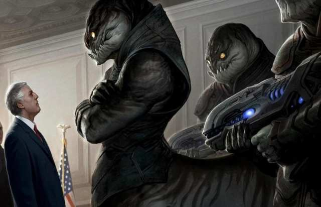Extraterrestrial Government hiding