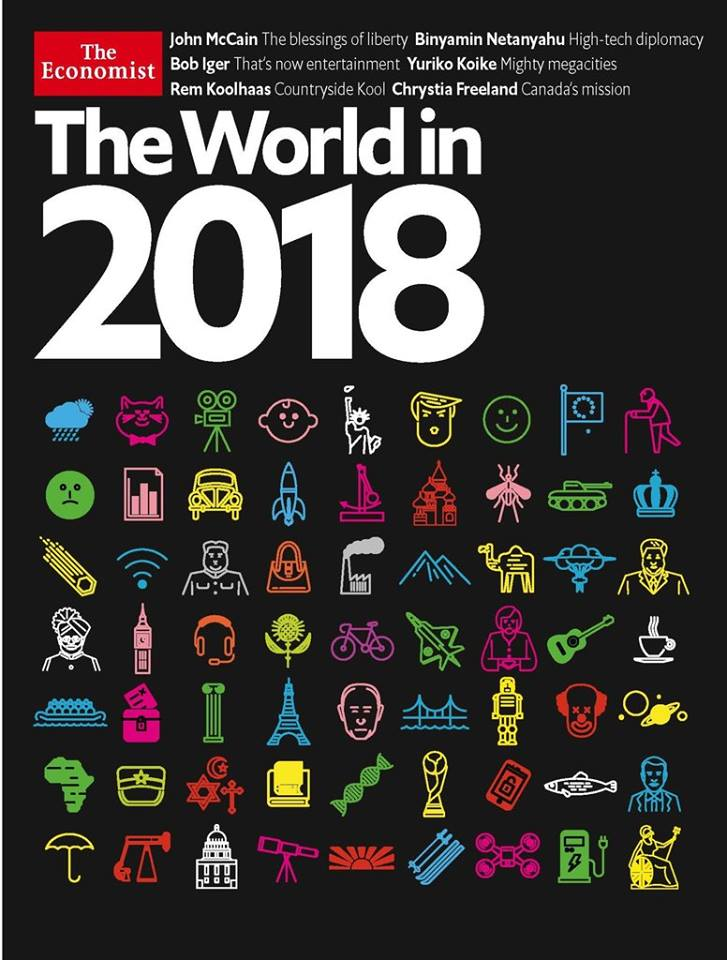The World in 2018