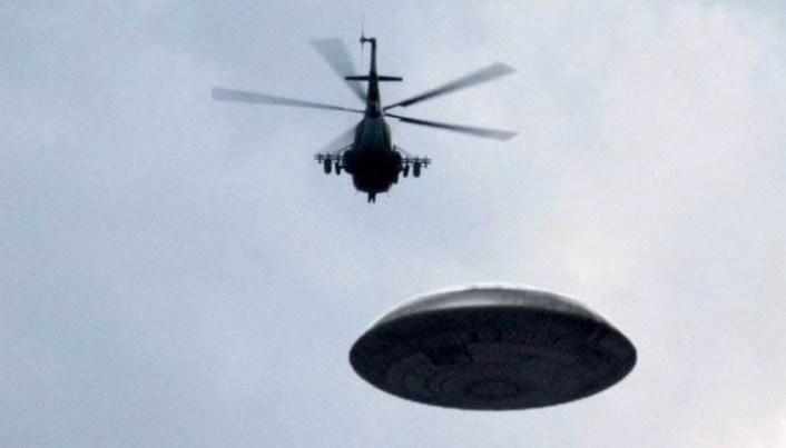 UFO over Los Angeles