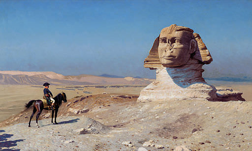 Napoleon and the pyramids
