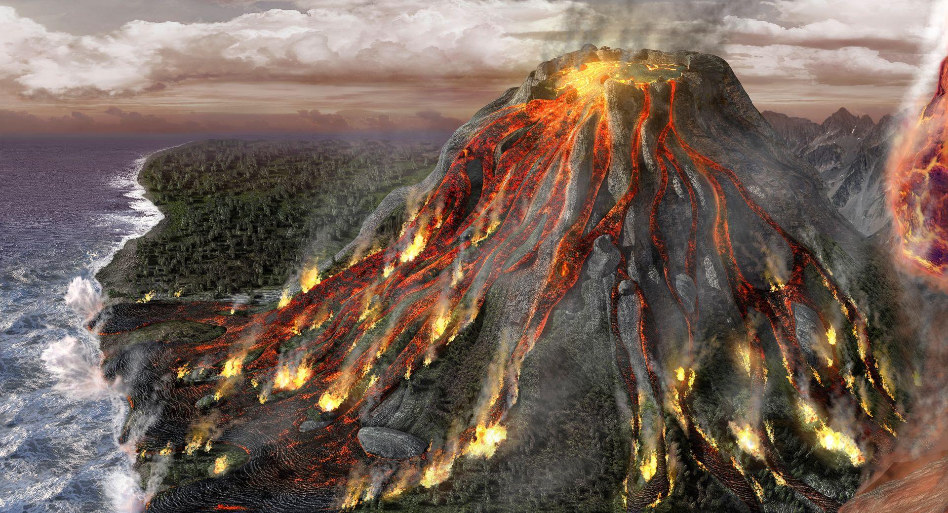 Cinco Volcanes Han Entrado En Erupcion En Lo Que Va Del