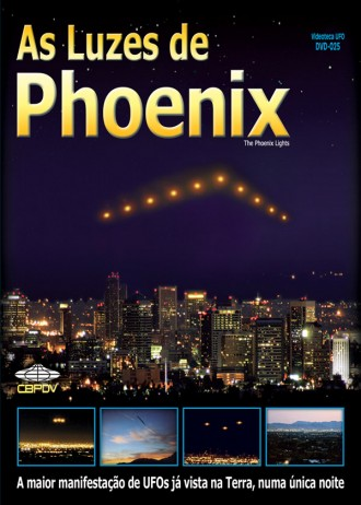 Capa do DVD As Luzes de Phoenix, código DVD-025