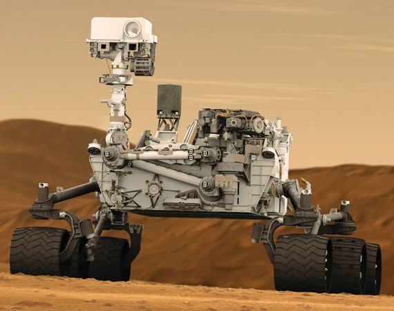 The Mars Rover 'Curiosity' Searching for life on Mars!