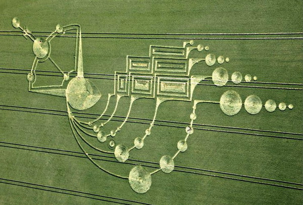 2009 was a very popular year for Crop Circles in the Wiltshire area, UK.