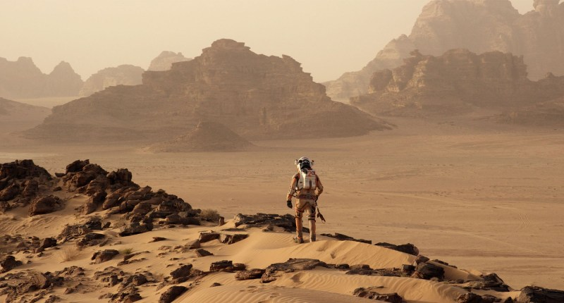 Great timing for the new film 'The Martian' ?!?