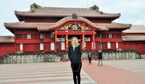 UFV student studying abroad in japan