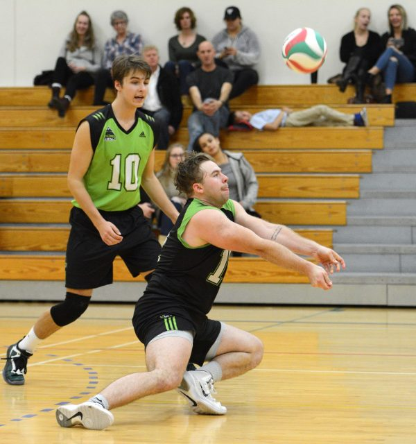 Cascades volleyball men knock off Royals in four sets ...