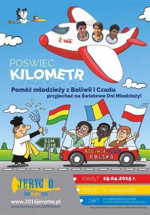 Poświęć kilometr - plakat