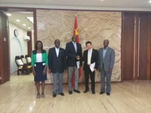 Chinese Embassy Meeting