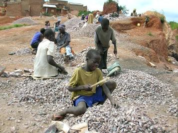 Image result for images african hungry boys in quarry
