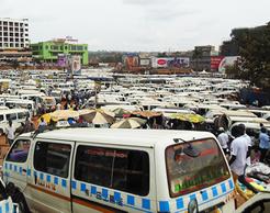 Taxis in Kampala