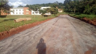 """UCU's Kids Care Centre Road in the campus """"tech park"""" area is freshly tarmacked."""