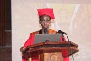 Prof. Monica Chibita delivers her professorial inaugural lecture