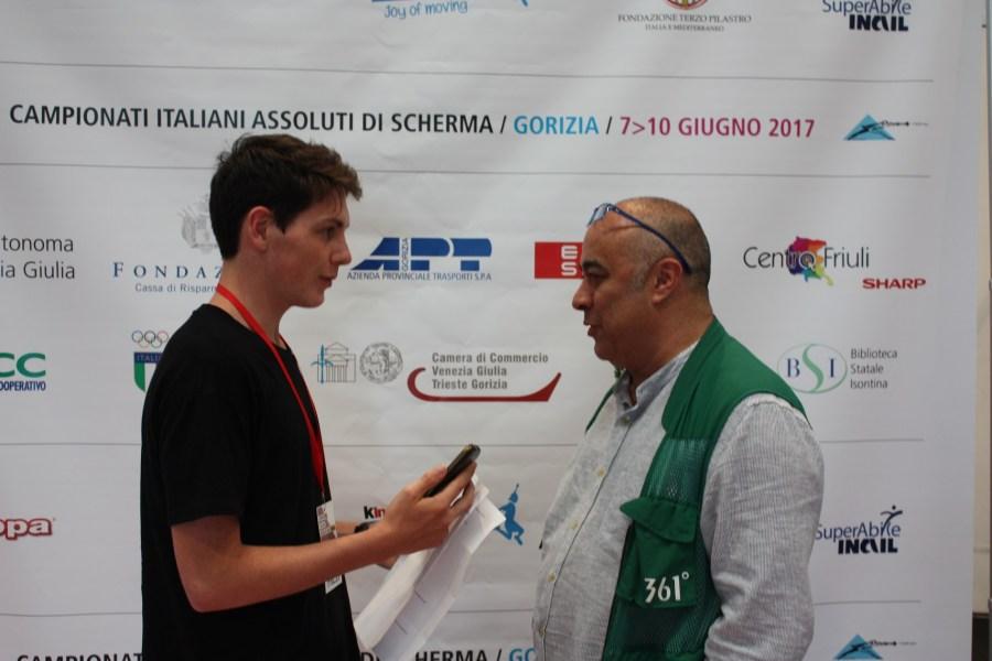 Intervista ad Augusto Bizzi, fotografo ufficiale della Federazione Italiana Scherma