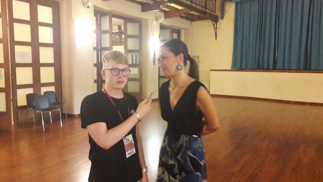 Intervista a Sabrina Caruso, hostess assunta per gli Assoluti di scherma 2017