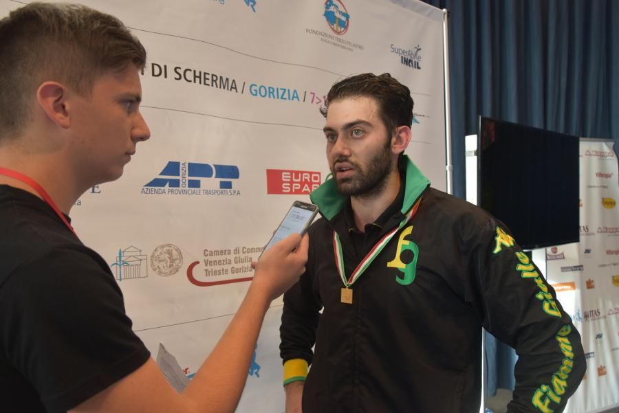 Intervista a Enrico berrè, dopo la vittoria