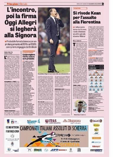 Rilancio Gazzetta dello Sport 06.06.17