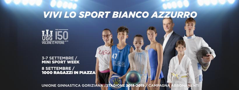 Mini Sport Week e 1000 Ragazzi in Piazza 2018